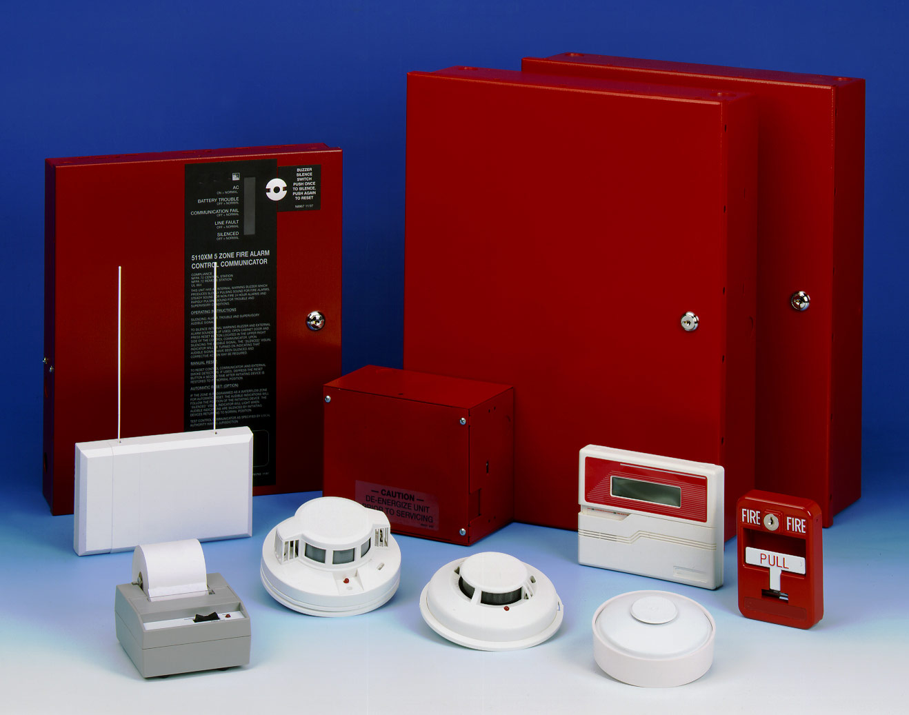 Terraquest International Fire Alarm System